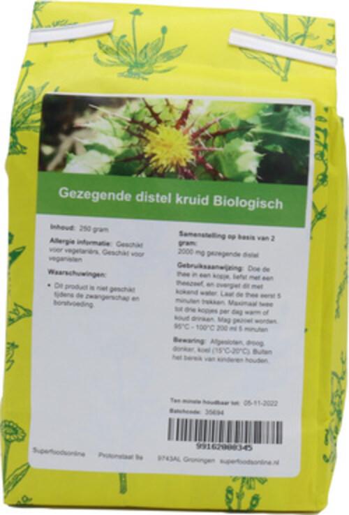 Shakthee Gezegende Distelkruid biologisch