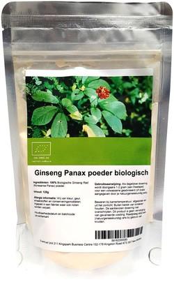 Koreaanse Ginseng (Panax) 125 gram biologisch