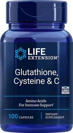 Life Extension Glutathione Cysteine en C 100 capsules