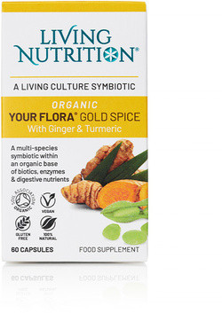 Living Nutrition Your Flora Gold Spice 60 capsules biologisch