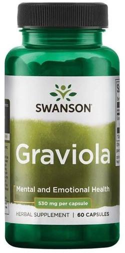 Swanson Graviola 60 capsules