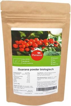 Purason Guarana Poeder 125 gram biologisch