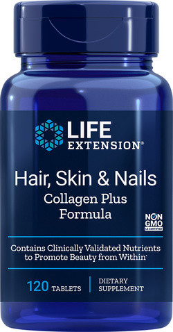 Life Extension Hair Skin and Nails Collagen Plus Formula