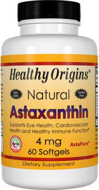 Healthy Origins Astaxanthine 4 mg