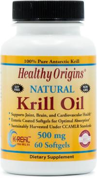 Healthy Origins Krill Oil 500 mg (K-Real)