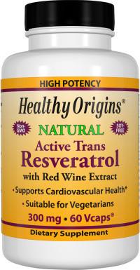 Healthy Origins Resveratrol met Red Wine Extract