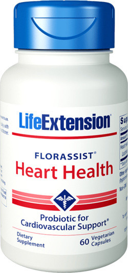 Life Extension Florassist Heart Health 60 capsules