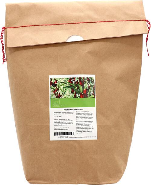 Shakthee Hibiscus bloemen heel Bio 250 gram biologisch