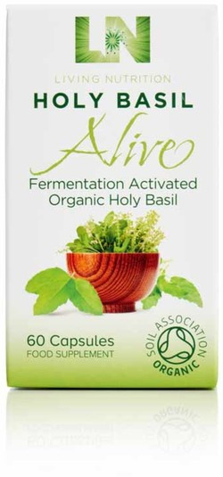 Living Nutrition Holy Basil Alive Caps 60 capsules biologisch