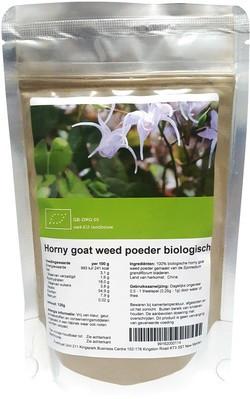 Horny Goat Weed Poeder 125 gram biologisch