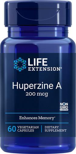 Life Extension Huperzine A 60 capsules