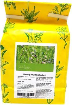 Hyssop kruid 250 gram biologisch