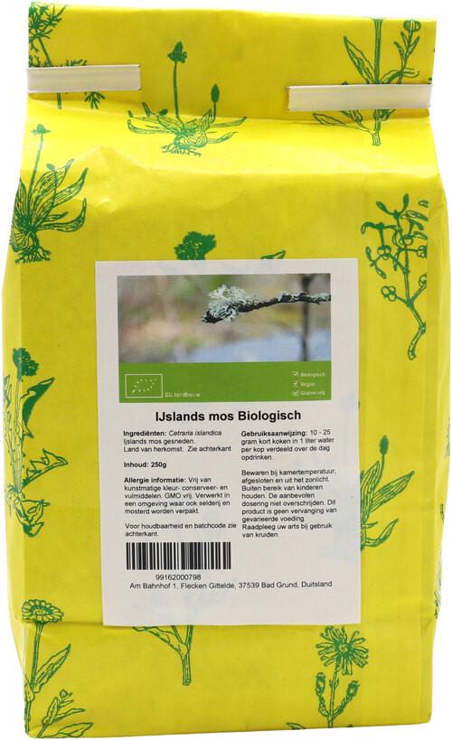 Shakthee Ijslands mos biologisch biologisch