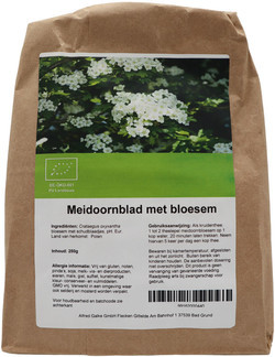 Shakthee Meidoorn blad met bloesem 250 gram