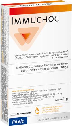 Pileje Laboratoire Immuchoc 15 tabletten