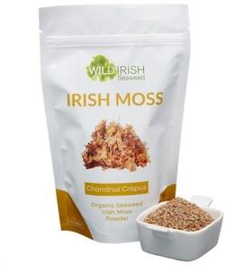 Wild Irish Seaweeds Organic Irish Moss 225 gram biologisch