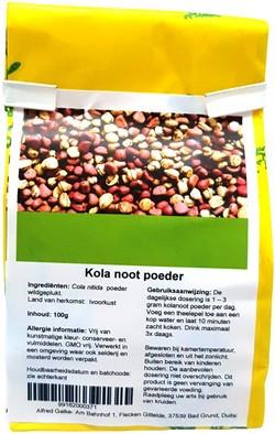 Kola Noot Poeder 100 gram