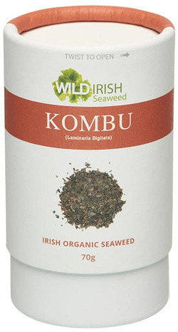 Wild Irish Seaweeds Organic Irish Kombu vlokken 70 gram biologisch