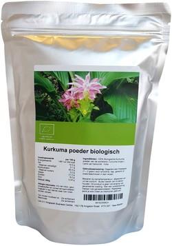 Kurkuma poeder biologisch 500 gram