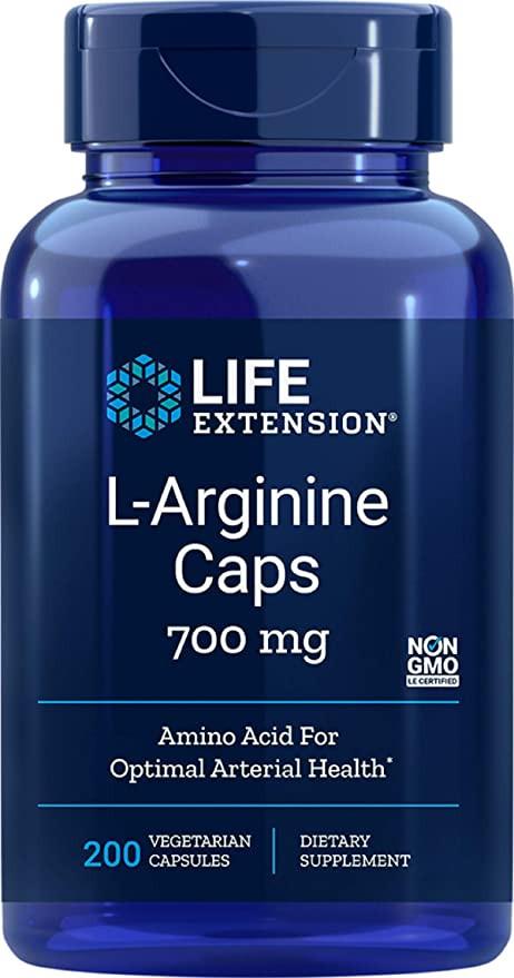 Life Extension L-Arginine Caps 700 mg