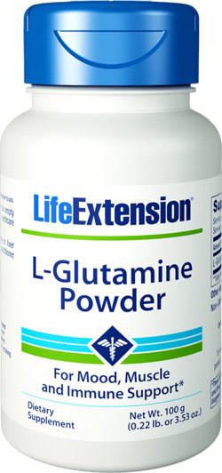 Life Extension L-Glutamine 100 gram
