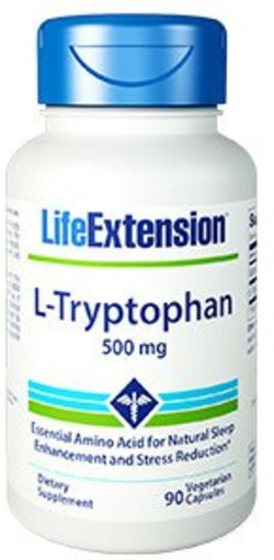 Life Extension L-Tryptophan 90 capsules