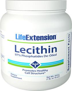 Life Extension Lecithine 454 gram poeder