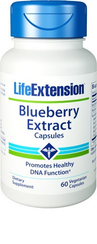 Life Extension Blueberry Extract Capsules 60 vegetarische capsules