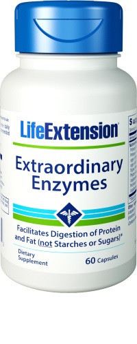 Life Extension Extraordinary Enzymes 60 capsules
