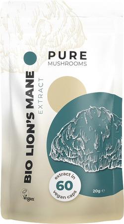 Pure Mushrooms Lion's Mane Extract biologisch