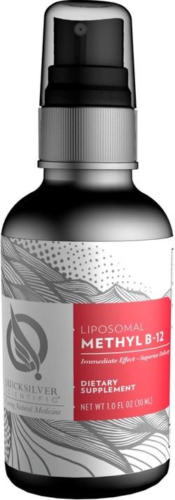 Quick Silver Liposomal Methyl B-12 30 milliliter