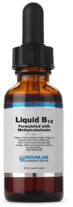 Douglas Laboratories Liquid B12 30 milliliter