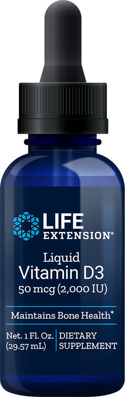 Life Extension Liquid Vitamin D3 2000 IE