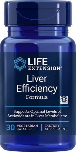 Life Extension Liver Efficiency Formula 30 capsules