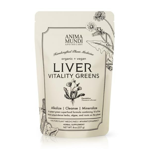 Anima Mundi Liver Vitality greens 227 gram