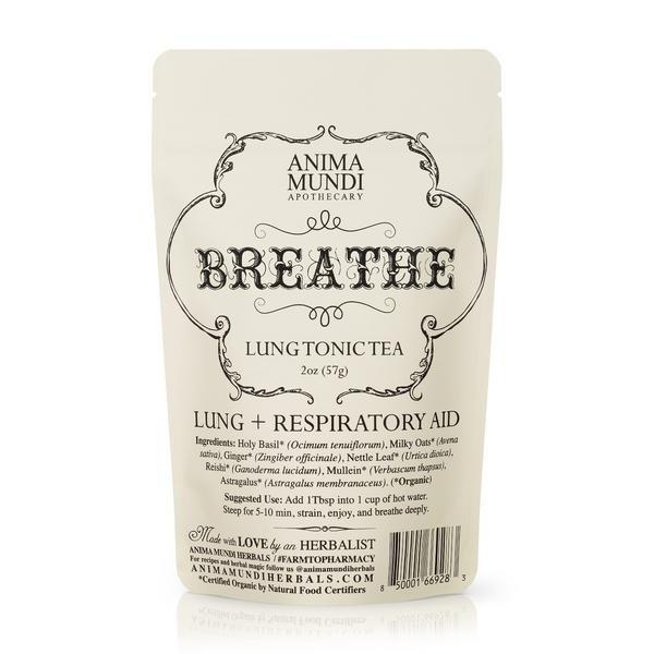 Anima Mundi Breathe: Lung Tonic Tea 57 gram