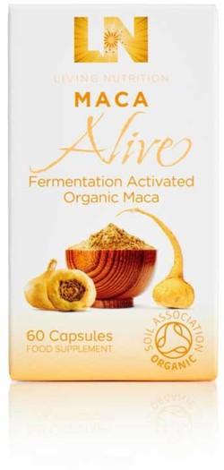 Living Nutrition Maca Alive Caps 60 capsules biologisch