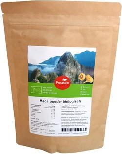 Purason Maca Poeder Raw biologisch 250 gram