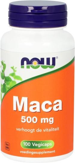NOW Foods Maca 500 mg 100 capsules