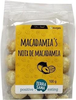 Terrasana Macadamianoten 100 gram biologisch