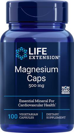 Life Extension Magnesium Caps 500 mg 100 capsules