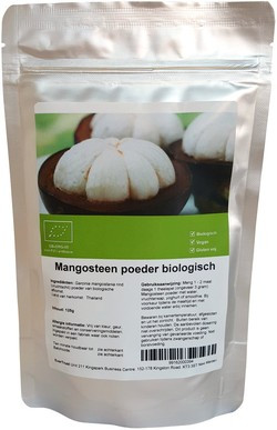 Mangosteen poeder 125 gram
