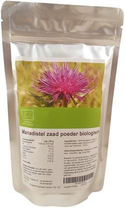 Mariadistel Zaad Poeder Bio biologisch
