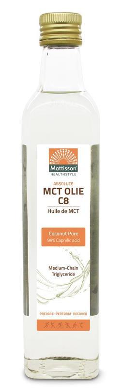 Mattisson MCT Olie C8 Coconut Pure