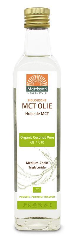 Mattisson MCT Olie biologisch 500 milliliter
