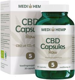 Medihemp CBD Caps 5% (25 mg) 30 capsules