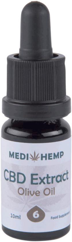 Medihemp CBD Olie 6% (2.2 mg) 10 milliliter biologisch