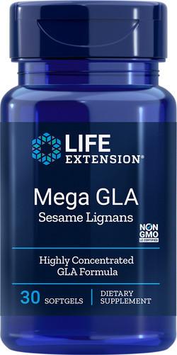 Life Extension Mega GLA 30 softgel capsules