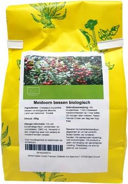 Meidoorn Bessen 250 gram biologisch