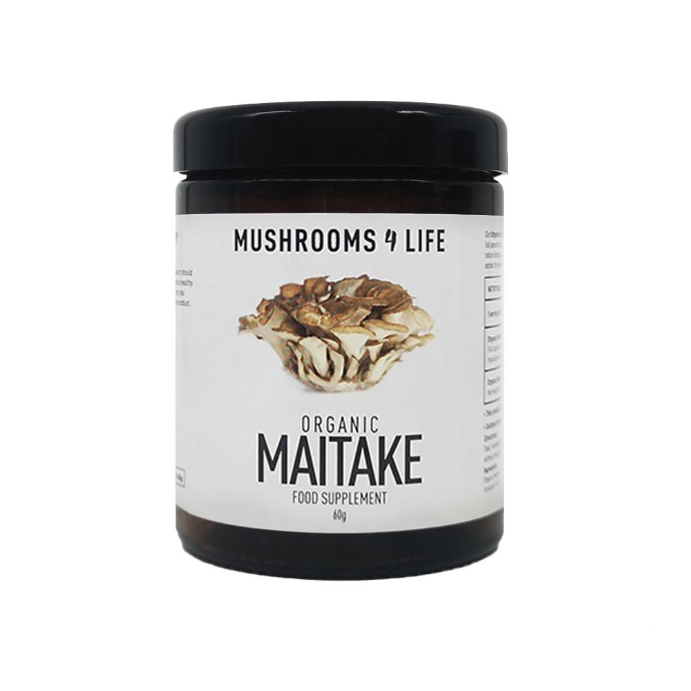 Mushrooms4Life Maitake Poeder biologisch